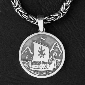 Амулет из серебра: Когда стихает ветер - берись за весла